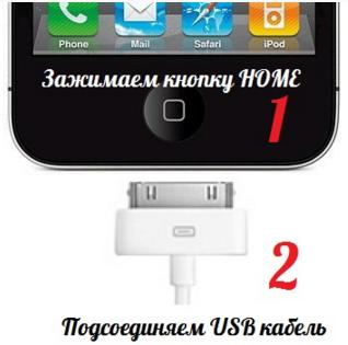 Как запустить айфон в режим восстановления