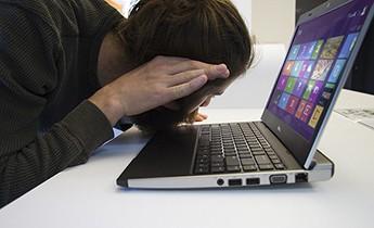 Ноутбук при включении пищит