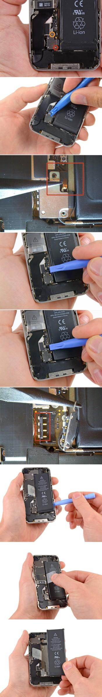 Замена экрана на iphone 5 с своими руками