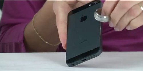 как удалить царапины на корпусе iPhone 5