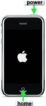 экстренная перезагрузка iphone когда висит